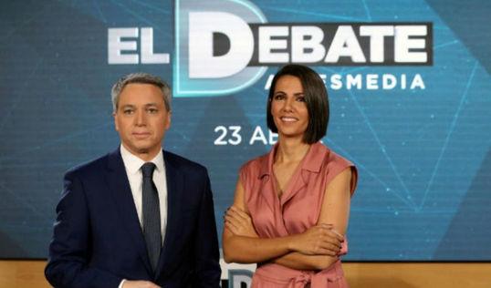 El debate electoral de Atresmedia será finalmente a cuatro sin VOX