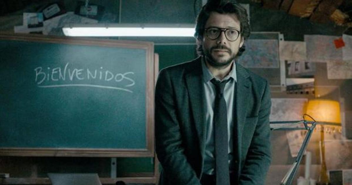 ¡El Profesor ha vuelto! Vuelve 'La Casa de Papel'